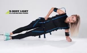 Скидка до 71% на EMS-тренировки на современном тренажере X-Body в сети студий X-Body Light